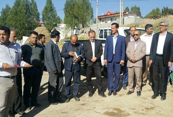 اجرای پروژه های عمرانی و خدماتی در روستاهای هشترود