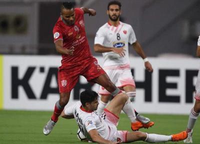 پرسپولیس مقابل الدحیل قطر مغلوب شد، سرنوشت صعود در آزادی