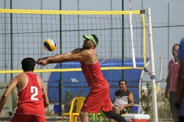 تیم والیبال بندر امیرآباد قهرمان جام دریانوردان در انزلی شد