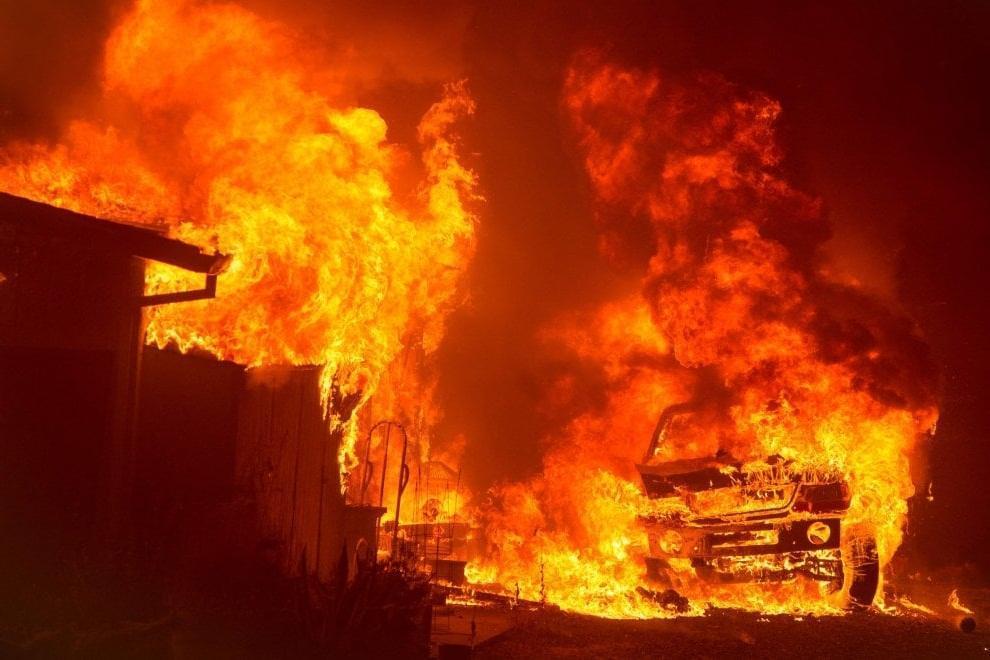 افزایش قربانیان آتش سوزی در کالیفرنیا به 48 تن