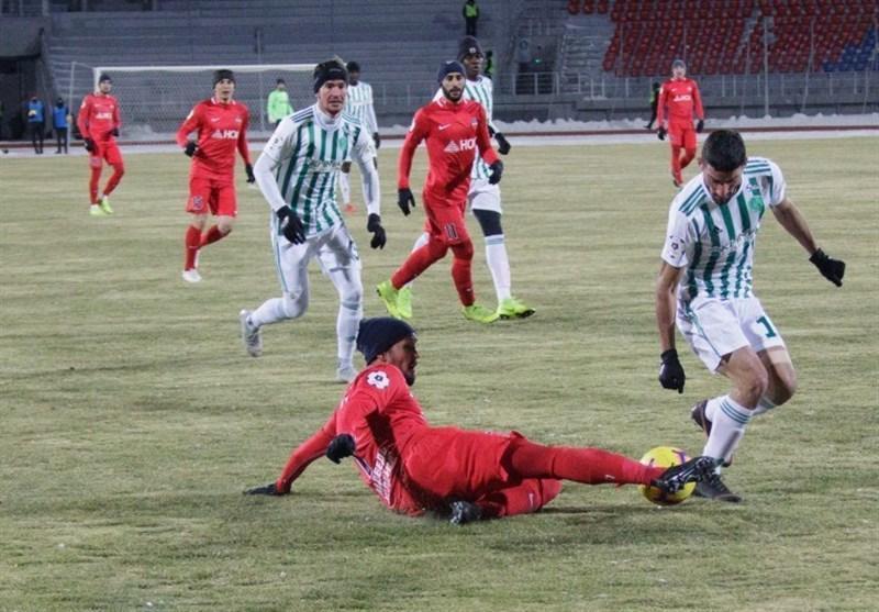 میلاد محمدی بهترین بازیکن گروژنی در کراسنویارسک