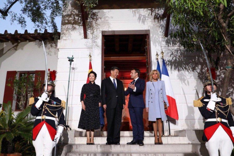 شروع تقویت همکاری های پکن با اروپا با سفر رییس جمهور چین به فرانسه