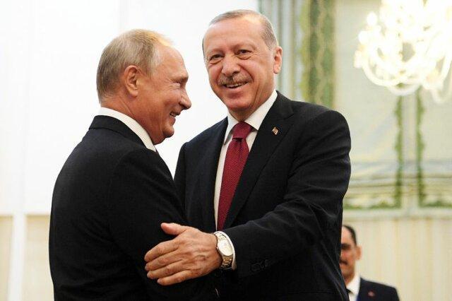 پوتین تولد اردوغان را تبریک گفت