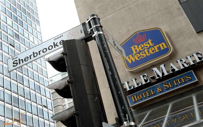 معرفی هتل 4 ستاره بست وسترن ویلی مونترال کانادا