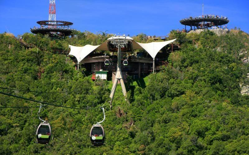 با تله کابین لنکاوی مالزی، شدیدترین شیب دنیا را تجربه کنید!