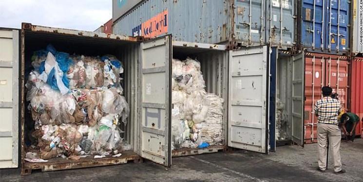 کامبوج زباله های آمریکا و کانادا را باز می گرداند