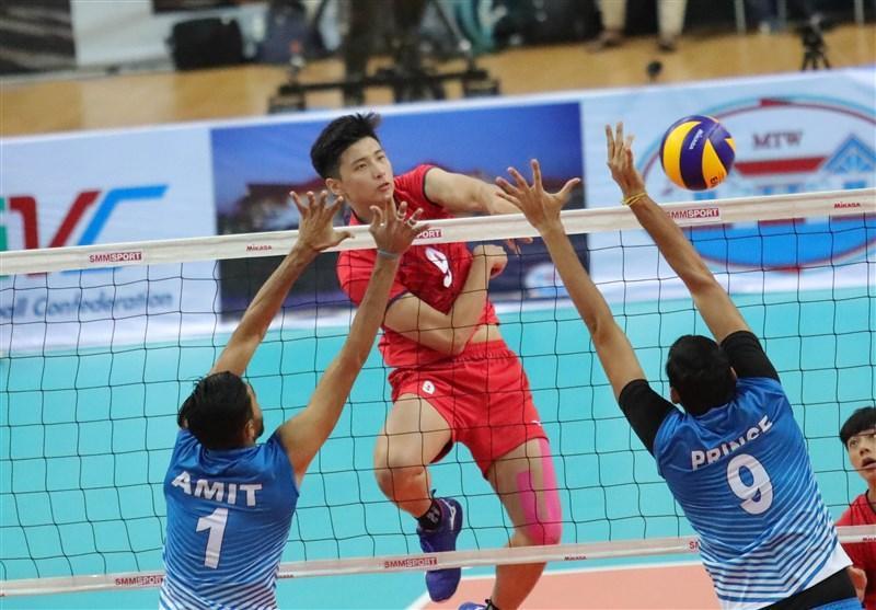 چین تایپه قهرمان والیبال زیر 23 سال آسیا شد