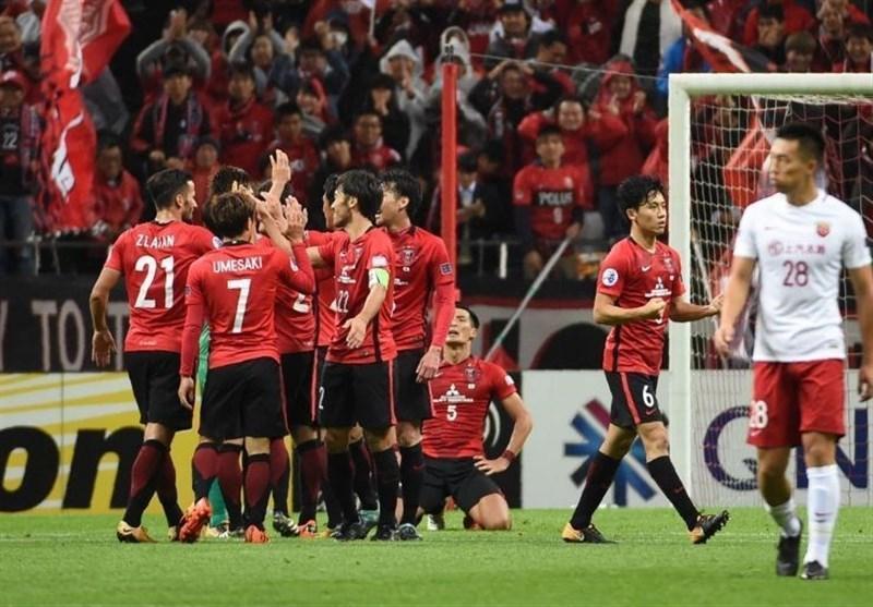 لیگ قهرمانان آسیا، تساوی تیم های چینی و ژاپنی
