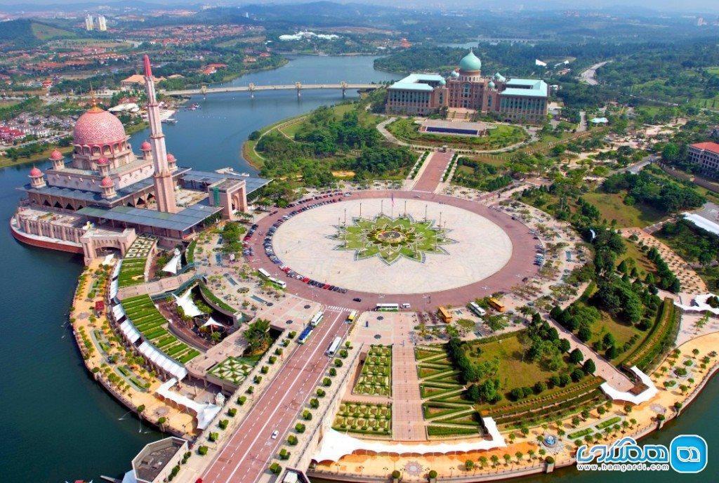 برترین جاذبه های گردشگری پوتراجایا، مالزی