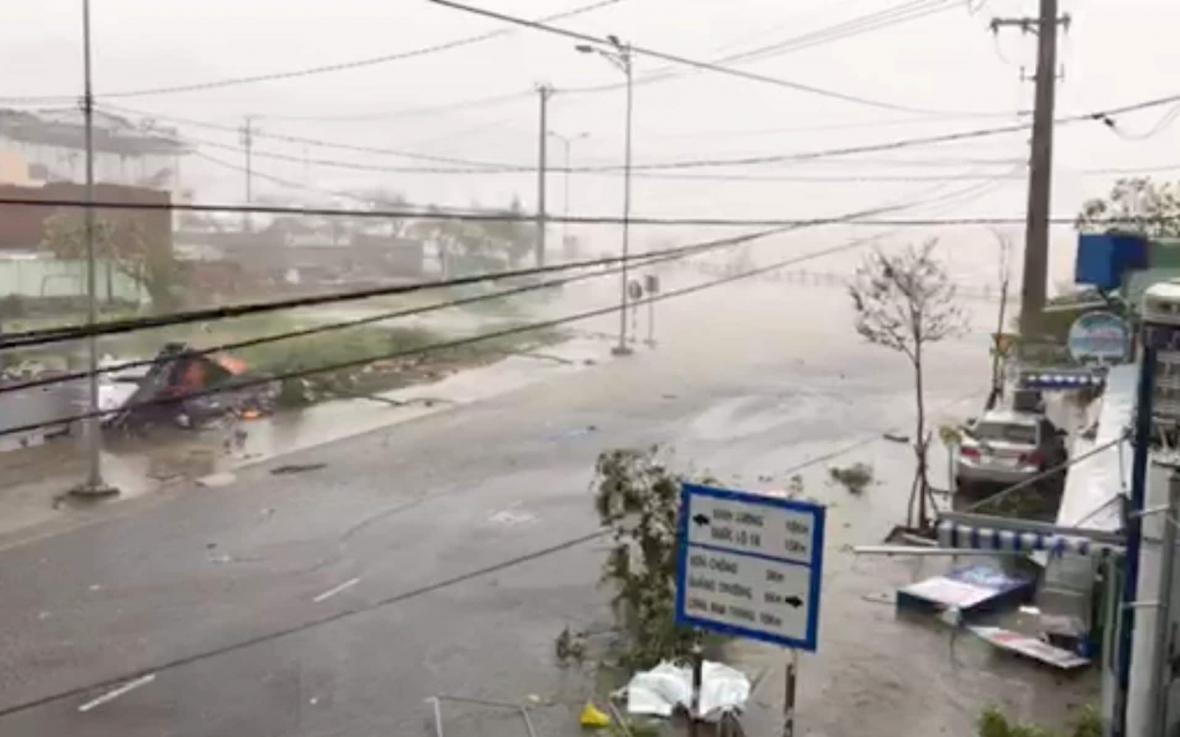 طوفان در ویتنام 19 کشته و 12 مفقود به جا گذاشت