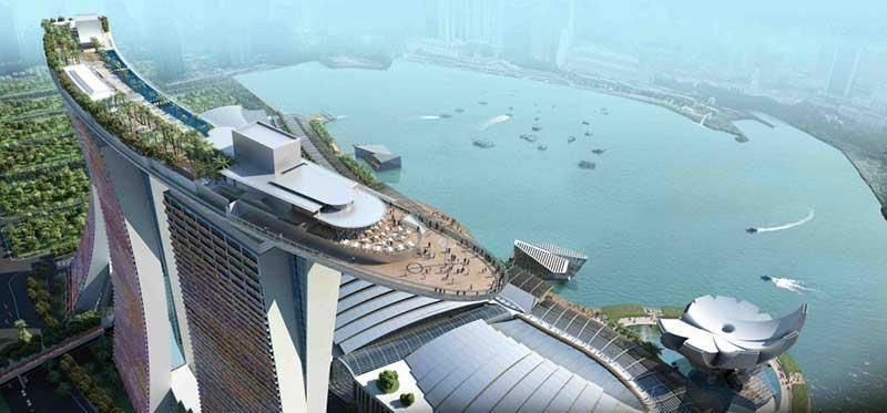 مرتفع ترین مکان های سنگاپور