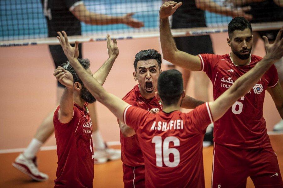 نخستین پیروزی والیبال ایران در جام جهانی 2019 ، کانادا تسلیم جوانان ایران شد