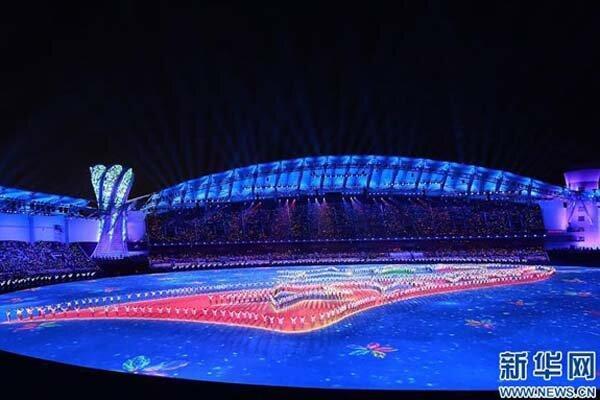 هفتمین دوره بازیهای نظامی دنیا در وو هان چین گشایش یافت