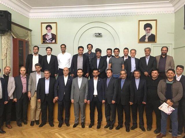 ضیافت شام سفارت کشورمان در ارمنستان با حضور آذری جهرمی