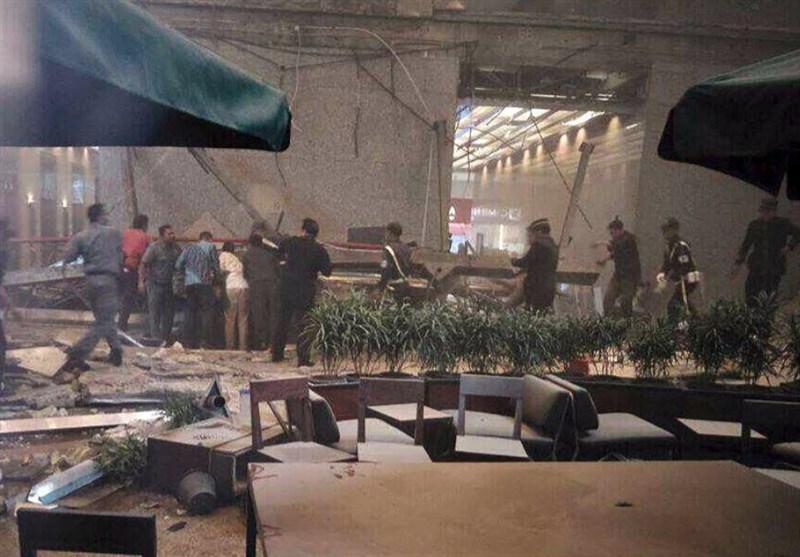 فرو ریختن سقف بازار بورس اندونزی ده ها مصدوم برجای گذاشت