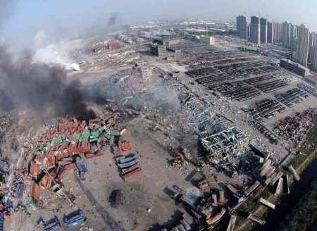 ضربات مهلک انفجار بر پیکره اقتصاد تیانجین چین