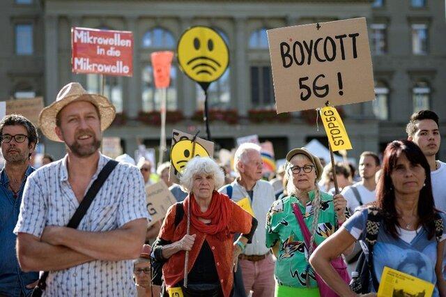اعتراض سوئیسی ها به توسعه شبکه 5G !