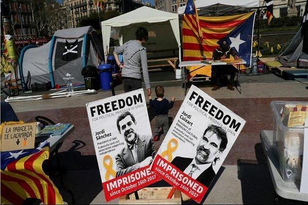 محاکمه رهبران جدایی طلب اسپانیا، کاتالونیا مهیای اعتراض می گردد