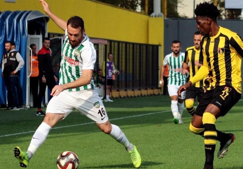 لیگ دسته اول ترکیه، تساوی استانبول اسپور در حضور یک دقیقه ای صیادمنش