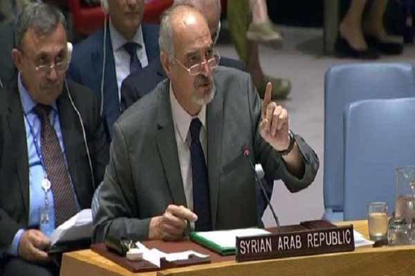 الجعفری: دمشق توجیه ترکیه برای حمله به سوریه را نمی پذیرد