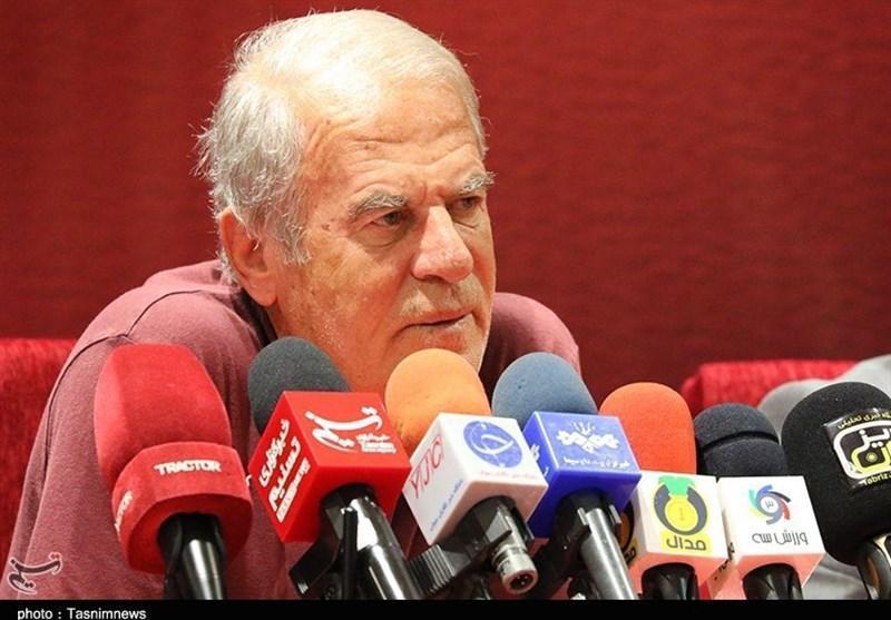 خوزستان، دنیزلی در نشست خبری دیدار صنعت نفت - تراکتور شرکت نکرد