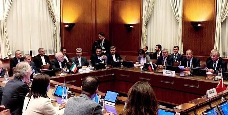 نشست ایران، روسیه، ترکیه و سازمان ملل در ژنو با موضوع سوریه