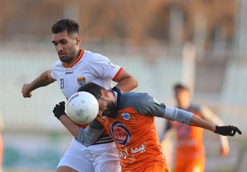 لیگ برتر فوتبال، تساوی سایپا و فولاد در عصر سرد اکباتان
