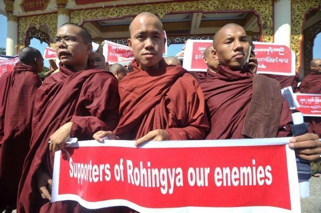 بودایی ها دیگر آن مردم صلح طلب نیستند
