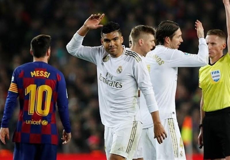 آماری از ال کلاسیکوی شماره 276؛ رجحان نسبی رئال مادرید مقابل بارسلونا