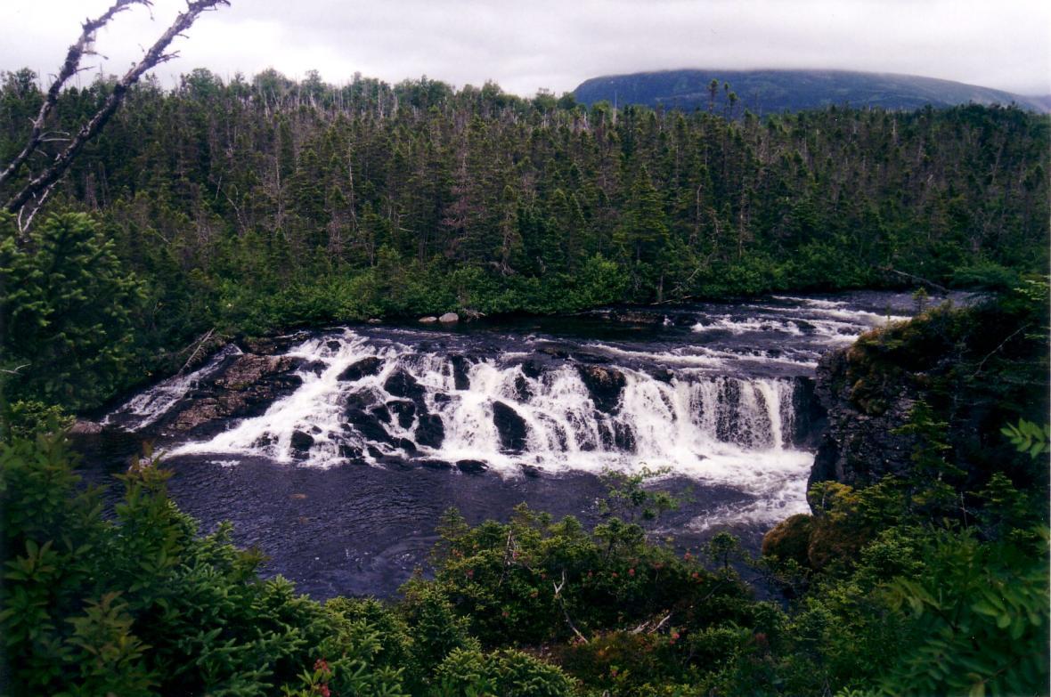 آبشارهای موجود در گروس مورن
