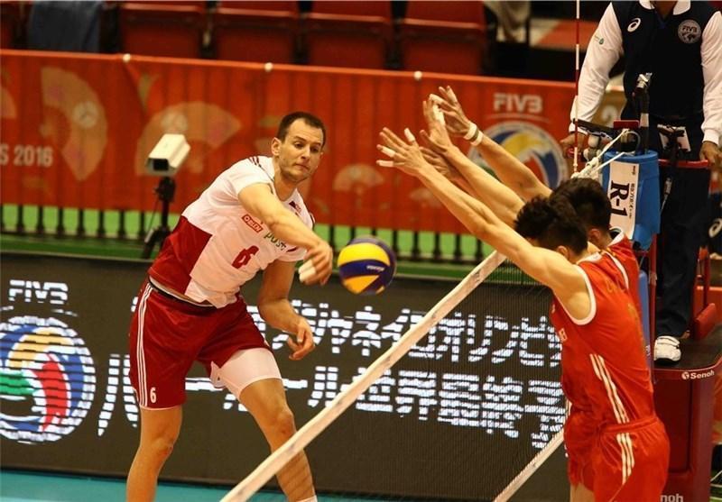 لهستان به سختی از سد چین گذشت، صعود قهرمان دنیا به صدر جدول