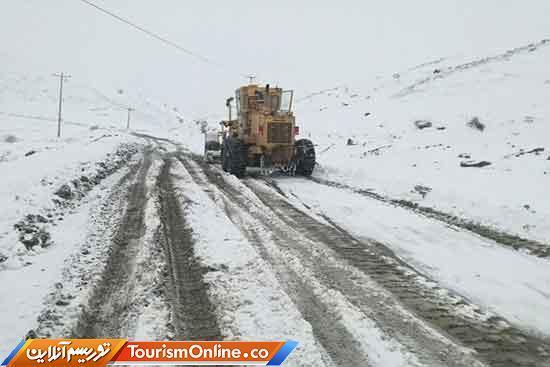 جاده های 7 استان کشور برفی است