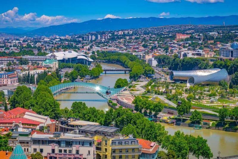خبرنگاران اعلام شرایط اضطراری در گرجستان