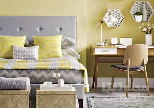 رنگ مناسب برای روتختی اتاق خواب