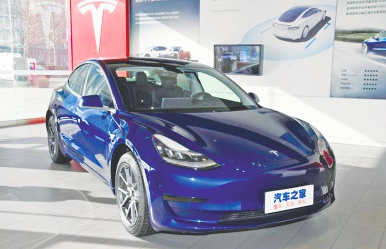 بهت تسلا از سقوط صنعت خودرو چین
