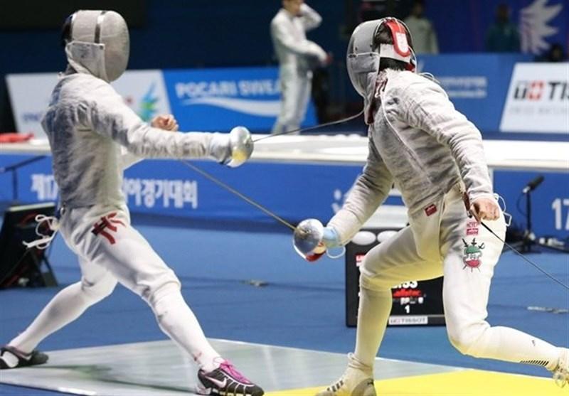 جام جهانی شمشیربازی سابر، تیم ایران هشتم شد