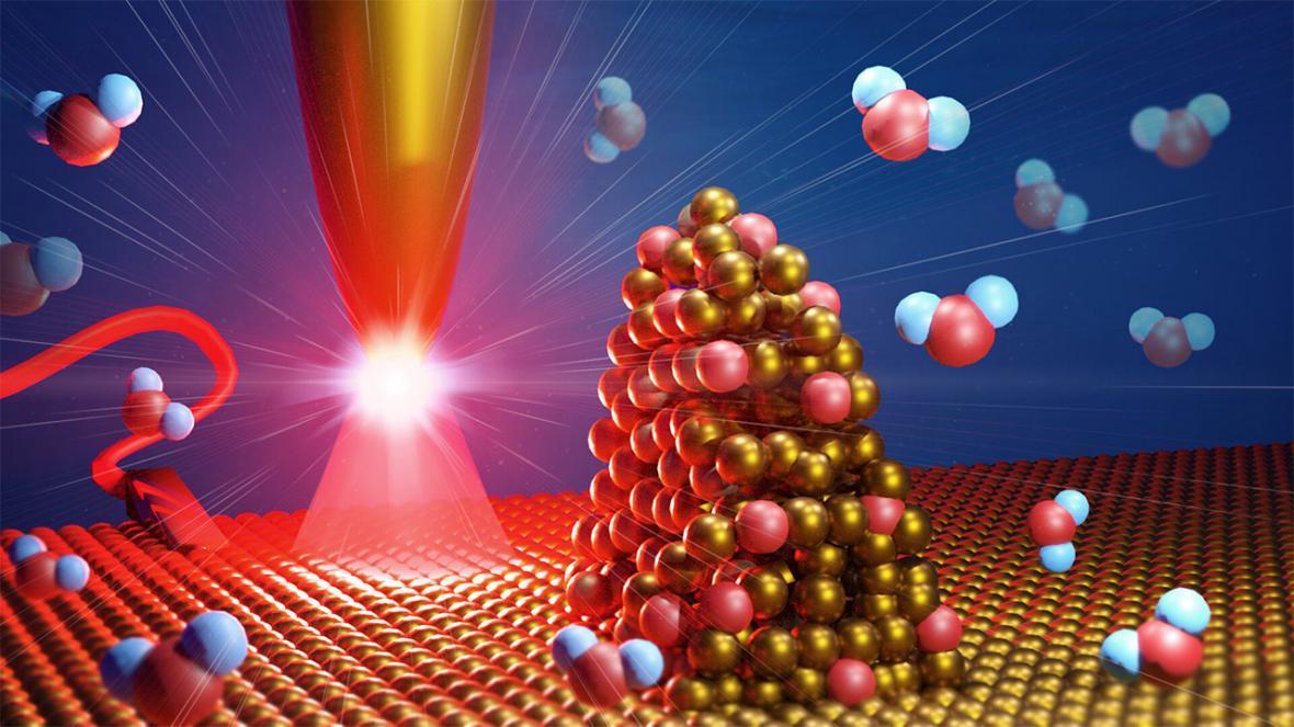 فرآیند تجزیه مولکول های آب در مقیاس نانومتری بررسی شد