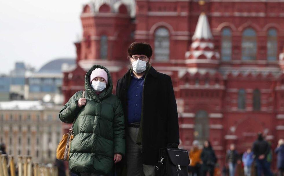 تعداد مبتلایان به کرونا در روسیه از چین پیشی گرفت