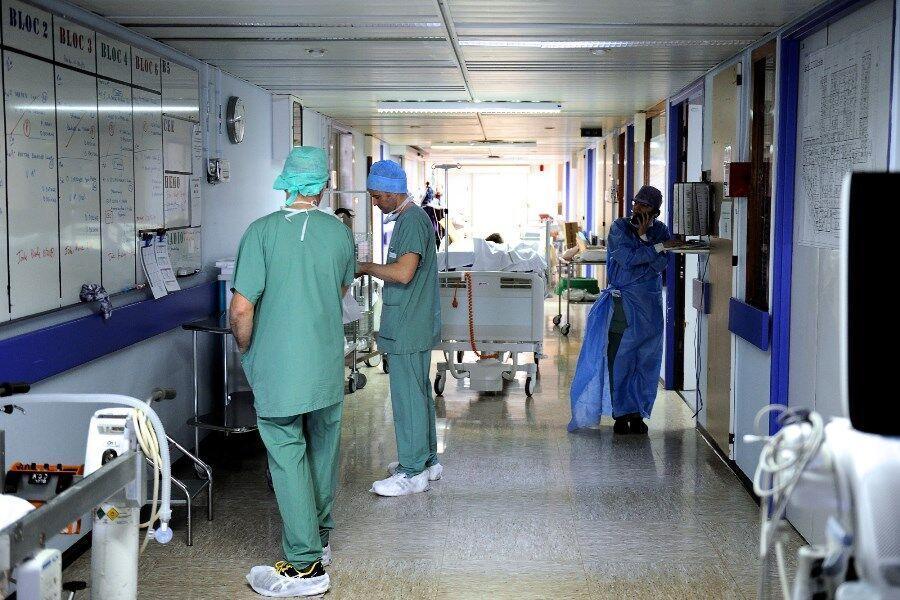 20 هزار نفر از کادر درمان فرانسه به کووید-19 مبتلا شدند
