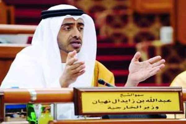 واکنش امارات به اخبار مربوط به کشته شدن وزیر خارجه این کشور