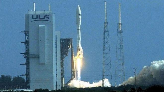 پرتاب فضاپیمای محرمانه آمریکا به فضا