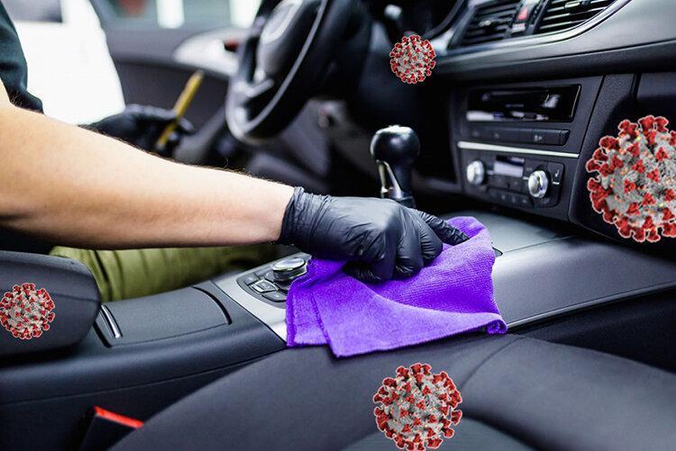 گرمای داخل خودرو باعث ضدعفونی می گردد؟