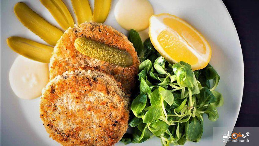 کتلت ماهی یک غذای فوق العاده خوشمزه