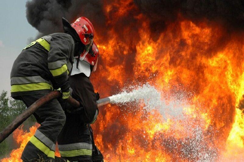 خبرنگاران آتش سوزی و ریزش آوار در تهران 2 مصدوم و 12 نجات یافته داشت