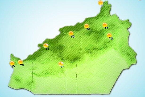 هشدار ، وزش شدید باد در استان سمنان و احتمال آتش سوزی جنگل ها