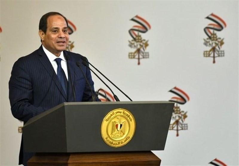 السیسی: مصر علاقه مند به حل صلح آمیز بحران لیبی است