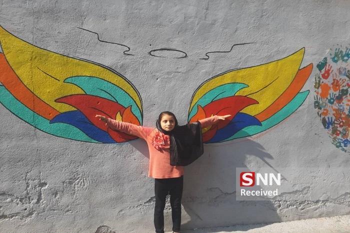 نقش زندگی بر دیوار های محله مظاهری منطقه پانزده