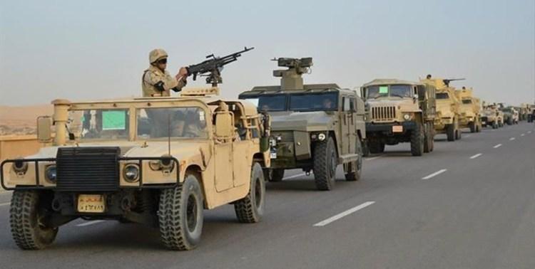 تکذیب ورود نیروهای مصر به سوریه
