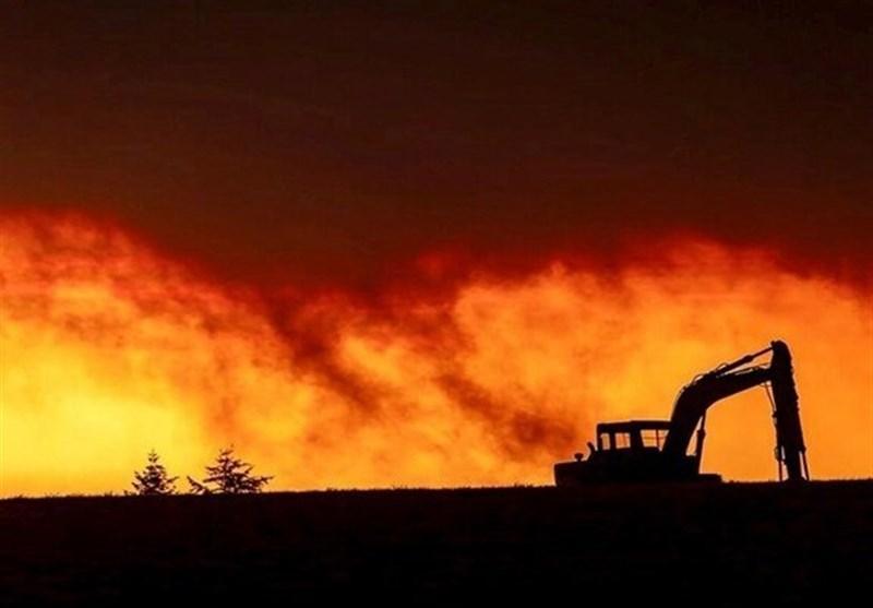 آتش سوزی گسترده جنگل های 5 شهر و منطقه ایالت اورگن آمریکا