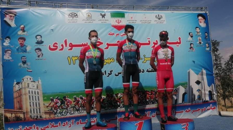 دوچرخه سواران دانشگاه آزاد در لیگ برتر قهرمان شدند
